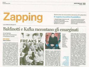 Rassegna stampa Freaks K