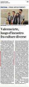 Francesco Morittu articolo rassegna stampa