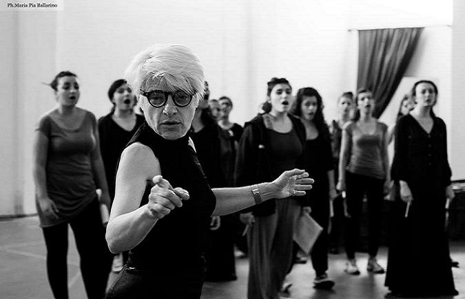 Seminario La voce nella dimensione gestuale e performativa con Francesca Della Monica