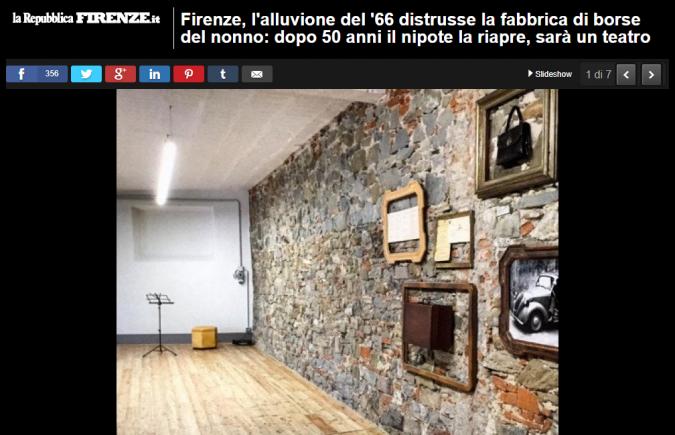Gallery di Repubblica Firenze su Il Lavoratorio